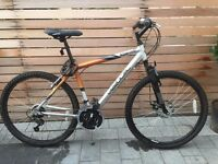 Pair of Mens & Ladies Mountain Bikes for sale. £70 for the pair or £40 each