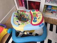 Chicco baby walker with entertainment