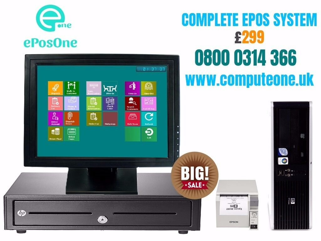 "15"" touch screen complete epos solution"