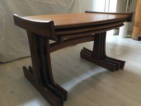 G-Plan Nest of Tables - Mid Century Danish range