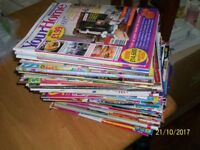 Huge pile of magazines used condation
