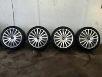 "FORD MONDEO ST 18"" ALLOY WHEELS AND TYRES"