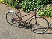Raleigh Misty Vintage Ladies Bicycle