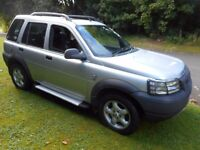 2002 LAND ROVER FREELANDER 2.0 ES TD4 FULL MOT