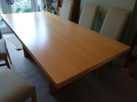 Dinning table for 8 (200 x 95 cm)