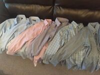6 Mens Dress Shirts