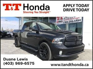 2015 Ram 1500 Sport *Heated Wheel, No Accidents, 1 Owner