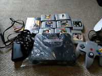 Nintendo 64 Console Bundle N64