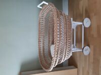 Wicker baby cotbed