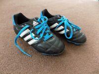 Adidas Kids football boots - Size 12