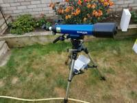 Brand new never used Meade infinity 90 telescope