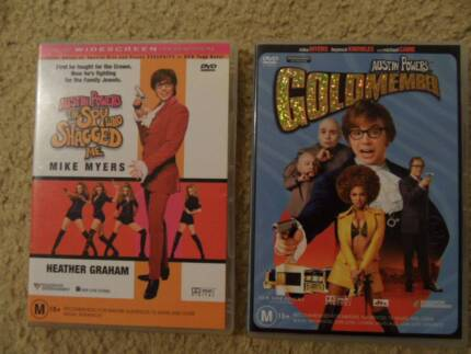 AUSTIN POWERS Goldmember & The Spy who Shagged me P.C. Birkdale Redland Area Preview
