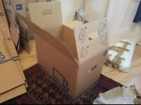 IKEA 'Jattene' Packing boxes. 10 available £10