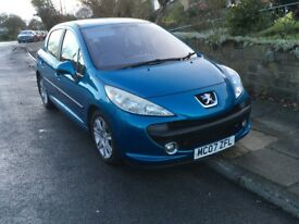 PEUGEOT 207 1.6HDi SPORT ROAD TAX ONLY £30