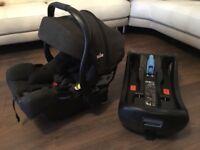 Joie Baby car seat & ISOFIX Base