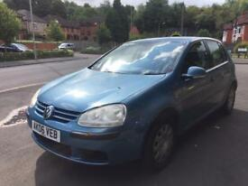 2006 VW GOLF 1.4 SE BLUE HPI CLEAR FULL SERVICE HISTORY PX WELCOME