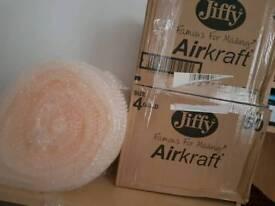 Jiffy Bag and Bubble wrap