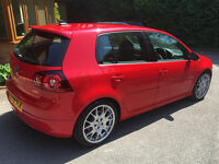 2008 VW GOLF 2.0 GTI EDITION RED MANUAL 81370 MILES