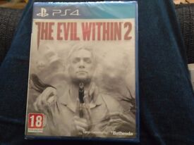 PS4 game THE EVIL WITHIN 2 BN FACTORY SEALED
