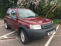 2003 LAND ROVER Freelander 2.5 V6 ES Automatic Beige Leather- Heated Front Seats