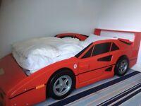 Child's Designer Racing Car Bed