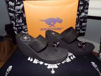 LADIES BLACK WEDGE BY ROCKET DOG..........Brand New and Boxed
