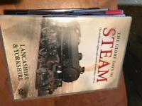 Steam engine train railway dvd bundle