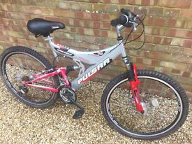 Saxon silver bike