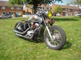 BOBBER Honda Shadow. 750 ROUTE 66...VGC POSS PX...SWOP