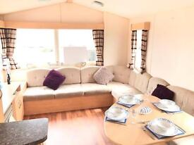 Perfect starter caravan for sale on 12 month pet friendly park,pitch fees included,north east coast