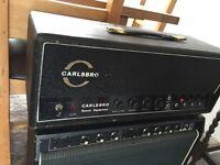 1969 Carlsbro CS60w valve amplifier
