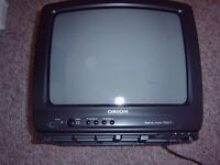 ORION 34cm SCART PORTABLE TELEVISION,