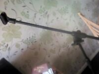Microphone Stand Giraffe New unused adjustable arm and height well made not a cheap stand.