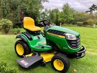 "John Deere X165 Ride on Mower - 48"" deck - Mulch - Lawn Tractor - Lawnmower - Kubota/Honda/Stiga"