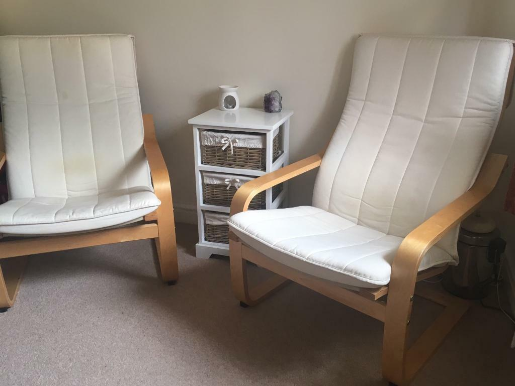 Two Ikea Poang Chairs In Lincoln Lincolnshire Gumtree
