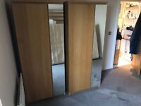 £150 URGENT - Negotiable - 2 Wardrobes - Very Good condition