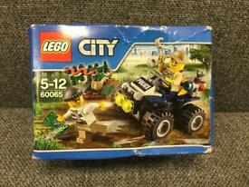 LEGO 60065 CITY SET BNIB SEALED with mini figures ATV PATROL SDHC