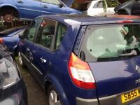 Renault Scenic 2005 (Blue) 1.6 Petrol For Breaking