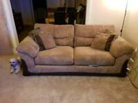 Dfs sofa and storage footstool