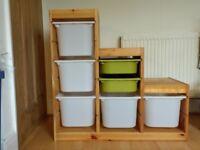 IKEA Trofast Children's Storage with boxes