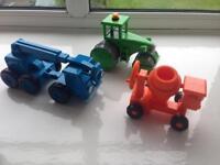 Bob the builder toys cars