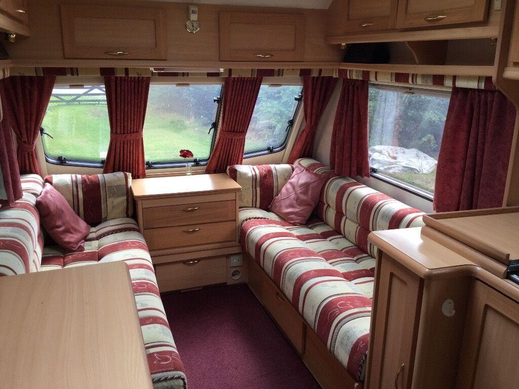 2 Berth Elddis Avante Caravan 2001 Quot Burghley Quot Special