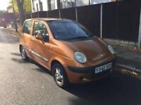 Daewoo matiz SE plus 0.1 litre for sale, 1 owner, very low genuine mileage, MOT, drives nice.