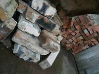 Free Assorted bricks and rubble