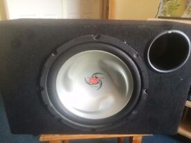 Subwoofer and 2000w amplifier