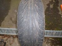 Part worn NanKang tyre.