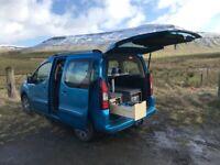 Campervan conversion kit boot jump