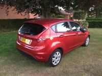 Ford Fiesta 1.2 Style 5dr in copper 2009/09 plate