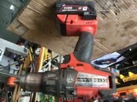 Milwaukee 18v fuel drill
