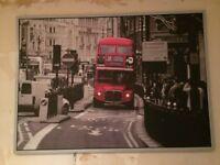 Ikea London bus canvas large